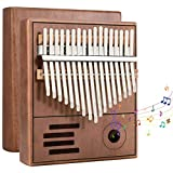 Bearbro Kalimba Thumb Piano 17 Teclas con instrucciones de estudio y martillo de afinació...