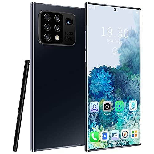 NZQLJT Teléfono Inteligente Desbloqueado, teléfonos celulares de 6.8 Pulgadas Baratos 8 + 51 2GB, Teléfonos móviles Dual Sim-Sim-Free, 5000mAh