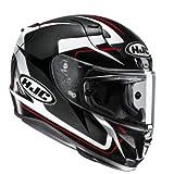 HJC Helmets 2336_25167 Casco de Moto RPHA 11 Bludom MC5, Hombre, Negro y Rojo, Extra-Large