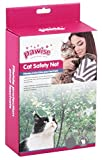 Pawise Schutznetz Katzenschutznetz Katzennetz Balkonnetz Transparent 2 x 1
