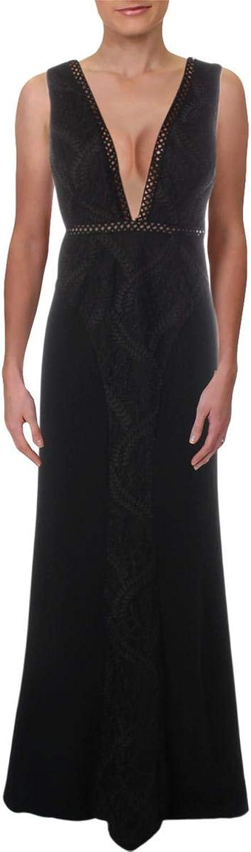 Aidan Mattox Aidan Womens Formal Embroidered Evening Dress