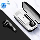 JOYROOM JR-T06mini HD TWS Bluetooth 5.0 Smart Touch - Auriculares deportivos con micrófono integrado, función de asistente y caja de carga, color negro