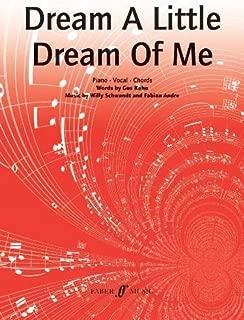 Dream a Little Dream of Me (Piano/vocal/guitar)