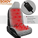 Best Heated Car Cushions - Sojoy Universal 12V Heated Car Seat/Cushion Warmer High/Low Review