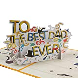 Pop Up Cards For Dad Birthday Cards For Men,Anniversary Cards With Envelope, 3D Greeting Cards For Father'S Gift,Father'S Day Cards