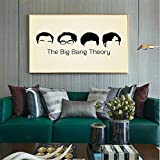 WuChao丶Store Vintage Film Poster The Big Bang Theory