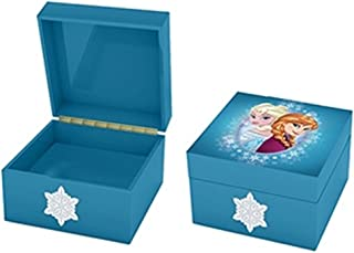 Adorable Keepsake Musical Jewelry Box with Characters from Disney's Frozen