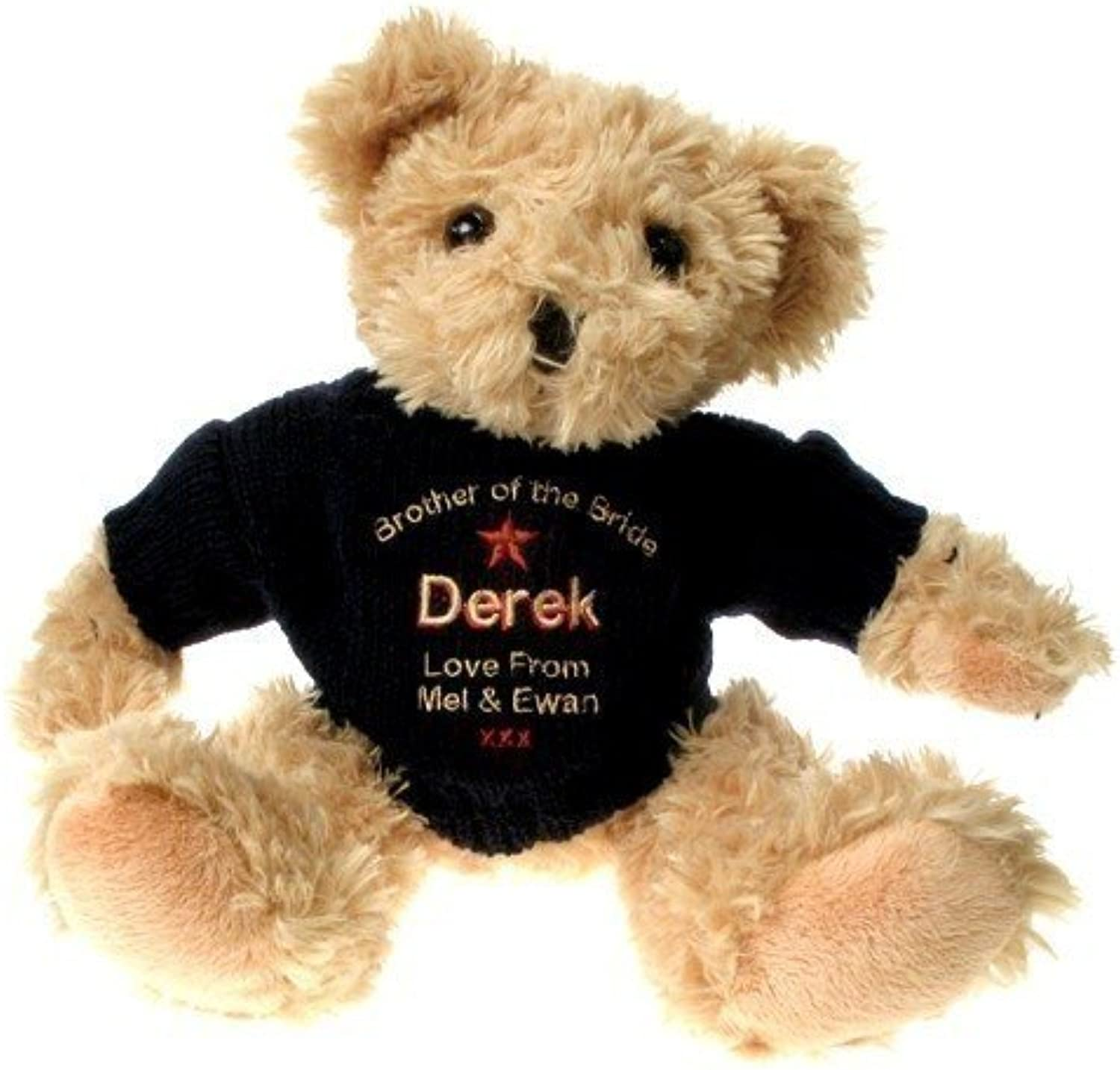 Personalised Brother of the Bride Teddy Bear