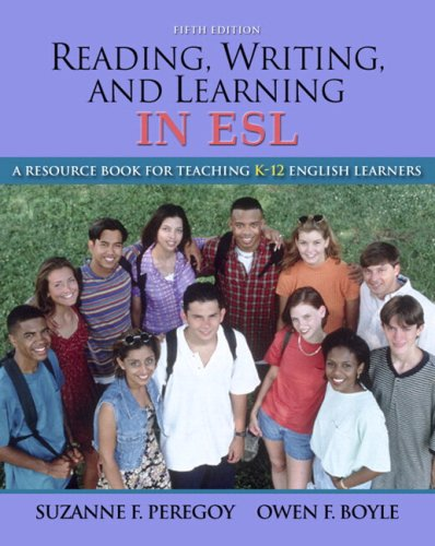 Reading, Writing and Learning in ESL, A Resource Book for...