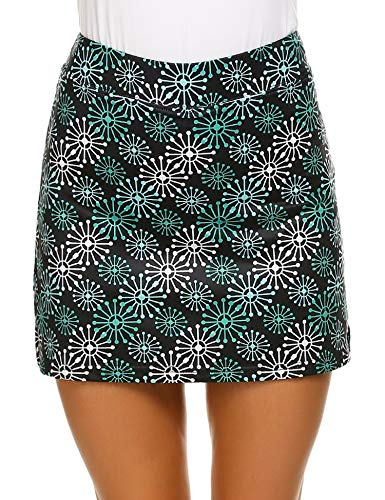 MAXMODA Damen Tennis/Hockey/Golf Sport-Hosen Rock/Skort, Winddicht PAT4 L