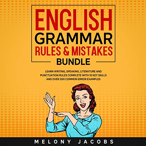 English Grammar Rules & Mistakes Bundle cover art