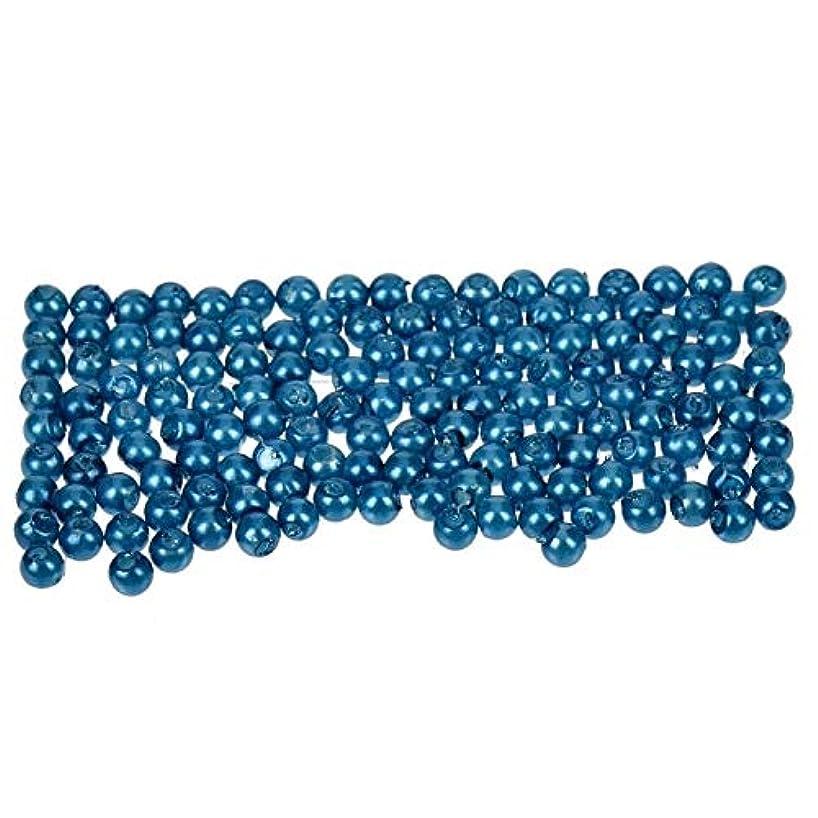 Efco Wax Beads, Plastic, Blue, 3 mm Diameter, 125-Piece