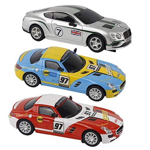N-B Scalextric Car Electric Track Racingforchildren Ragazzi Slot Race Remote Control La Terza generazione1 : 43