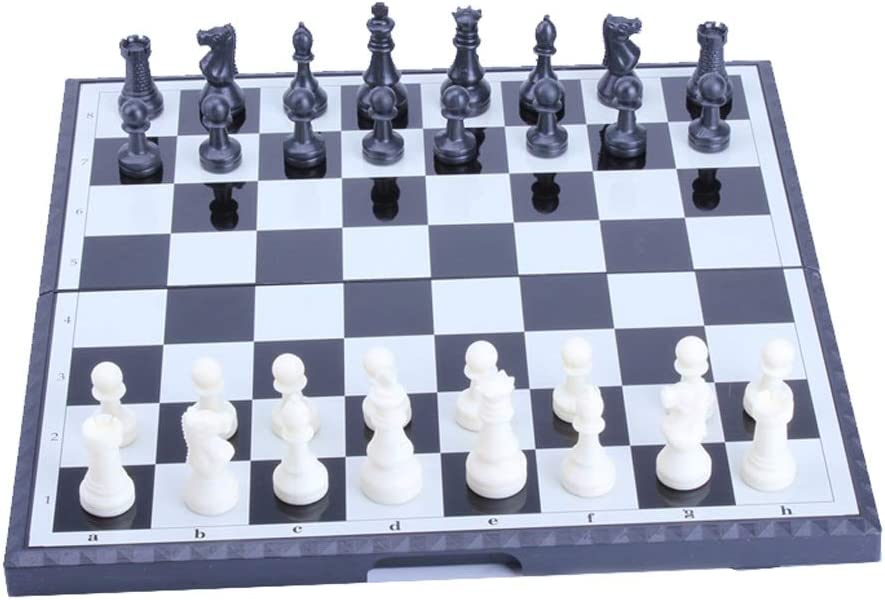 YHYH Chess Magnetic Plastic Set Travel Inte lowest Tampa Mall price Portable