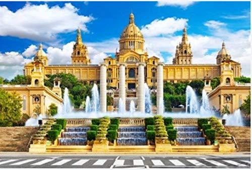 Rompecabezas Rompecabezas 1000 Piezas Puzzles Barcelona Placa De Espanya España Puzzle DIY Art