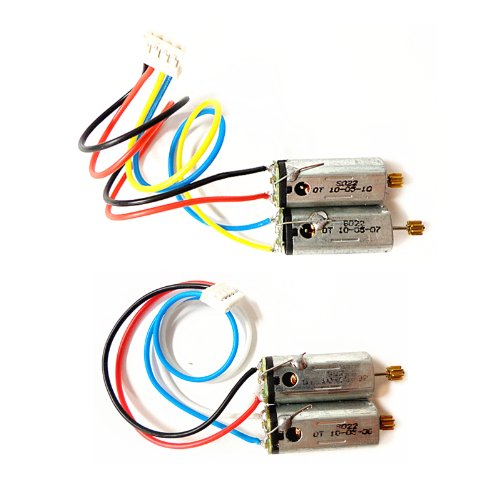 SYMA 1 Pair Front & Rear Main Motor Set S022 022 / S34 RC Helicopter Spare Parts S022-19 S022-20