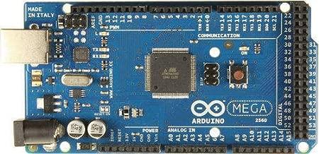 Arduino Mega 2560 Development Board, Kit Microcontroller Card & USB Cable for Electronics & Robotics, Based on ATmega328 ATmega328P ATMEGA16U2