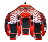 RAVE Sports Warrior 3 Towable Inner Tube for 1-3 Riders