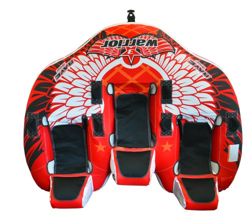 RAVE Sports Warrior 3 Towable Inner Tube for 1-3 Riders