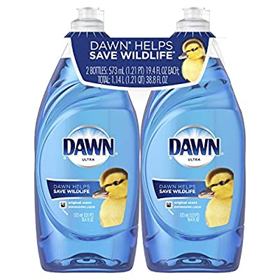 Dawn Ultra Dishwashing Liquid, Original, 2 Count (Packaging May Vary)