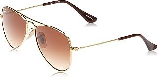 Kids' Rj9506s Metal Aviator Sunglasses