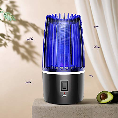 Wosta USB Powered Insect Killer Electronic Led Mosquito Killer Lamps Super Trap Machine For Home Eco-Friendly Baby Mosquito Repellent Lamp. (Jali Mosquito)