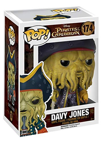 Figura Disney Piratas del Caribe Davy Jones