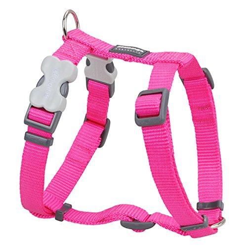 Trilus DH-ZZ-HP-15 Nylon Hundegeschirr, hot pink, S