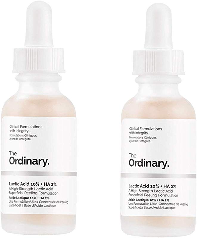 The Ordinary Lactic Acid 10 Ha 2 30ml Pack Of 2