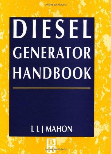 Diesel Generator Handbook  Electric Machinery Motors New Rental Textbooks Used