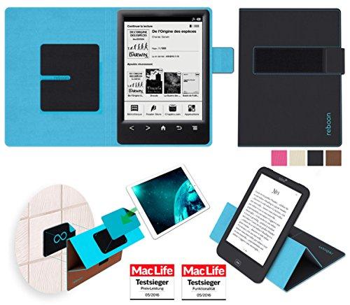 reboon Hülle für Sony PRS-T3 Tasche Cover Hülle Bumper   in Schwarz   Testsieger