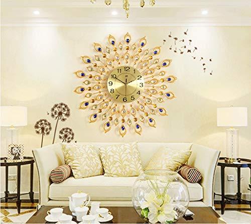 Horloge Horloge Murale Salon Moderne Personnalité Créative Horloge À Quartz Chambre Table Table Ménage Horloge Silencieuse De Mode Simple Montre Murale (taille : 70cm)
