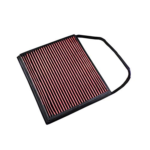 Shutters R-EP Filtro de Aire de Alto Flujo Adecuado para Ajuste Reutilizable Lavable para BMW E82 E88 E89 135i E91 E90 E92 E93 335i OEM 13717556961 Panel de reemplazo