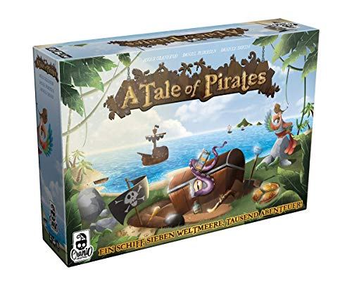Asmodee CRCD0014 A Tale of Pirates, Brettspiel
