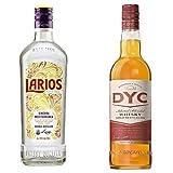 Larios - Ginebra Mediterranéa, 0.7 l + Dyc - Whisky 5A, 40º, 0.7 L