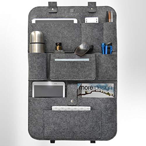 Ixxmind® auto organizer, wohnmobil zubehör, kinder, rückenlehnschutz, organizer auto, stabiler filz -  Ixxmind® auto