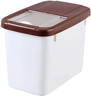 AWAING Bocaux Multifonction céréales Conteneurs de riz Boîte de rangement en plastique Joint étanche à l'humidité du grain...