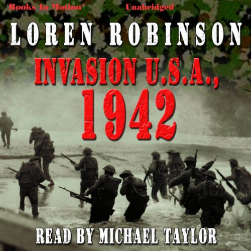 Invasion U.S.A., 1942 audiobook cover art