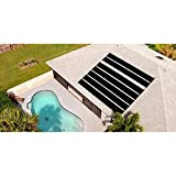 CBPE Solar Swimming Pool Heater Panel for Inground Above Ground Pools, Solar Heater for Inground And Aboveground Made of Durable Polypropylene, Raises Temperature, 6-10°F,1 * 3m(3.2 * 9.8ft)