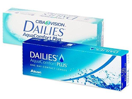 Ciba Vision Dailies AquaComfort Plus, 30 Stück/BC 8.7 mm/DIA 14 / +1.50 Dioptrien