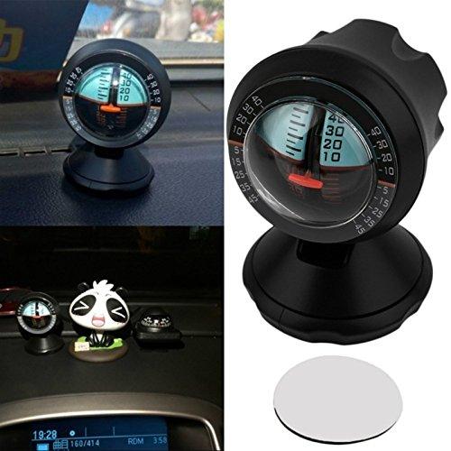 1 outil de localisation d'inclinomètre réglable pour voiture