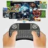 E Royal Shop® Wireless Mini Keyboard with Touchpad/Backlit Light & Wireless Mouse Combo