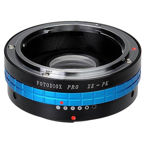 Fotodiox Pro レンズマウントアダプター Mamiya ZE(35mm)レンズからPentax Kマウント(PK) デジタル一眼レフカメラ用