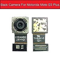 モトローラモトE5 EプラスXT1924ビッグバックカメラモジュール用リアメインカメラフレックスリボンケーブル交換部品高品質