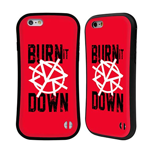 Head Case Designs Officially Licensed WWE Seth Rollins Burn It Down 2018/19 Superstars 4 Hybrid Case Compatible with Apple iPhone 6 / iPhone 6s
