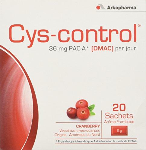Arkopharma CYS Control 20 Sachets Complément Alimentaire 36 mg