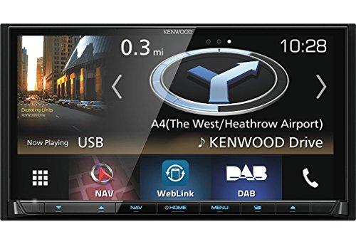 Kenwood DNX8180DABS Navigationssystem (Kontinent)
