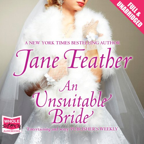 An Unsuitable Bride audiobook cover art