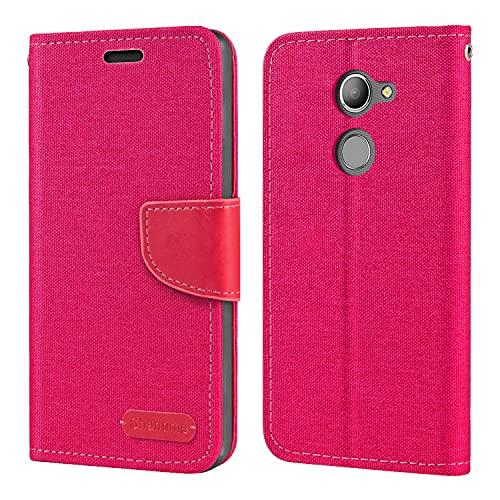 Vodafone Smart N8 VFD610 Hülle, Oxford Leder Wallet Hülle mit Soft TPU Back Cover Magnet Flip Hülle für Vodafone Smart N8 VFD610