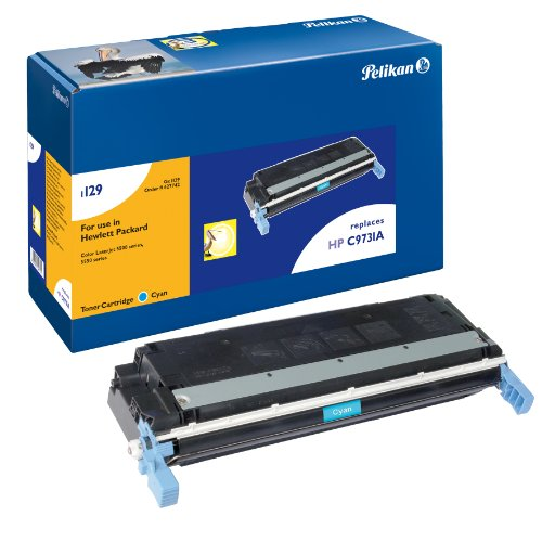 Pelikan Toner ersetzt HP C9731A (passend für Drucker HP LJ 5500/5550 Color; Canon LBP 2810)